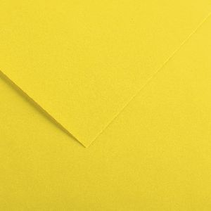 Canson Colorline 50 x 65cm Paper 300gsm Canary Yellow