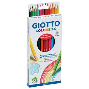 Giotto Coloured Pencils 24 Pack