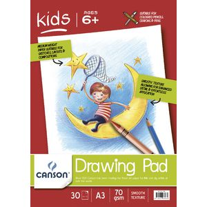 Canson Drawing Pad A3 70 gsm