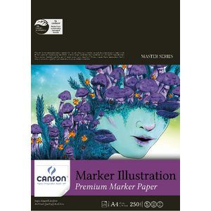 Canson A4 Illustration Pad 250gsm 20 Sheet