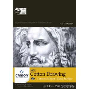 Canson A4 Cotton Paper Pad 250gsm 20 Sheet