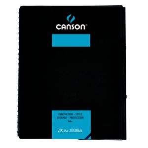 Canson A4 Visual Journal 120 Page Blue
