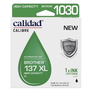 Calidad Alternative Brother 137XL Ink Cartridge Black
