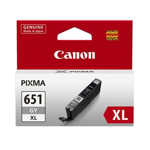 Canon CLI651 XL Ink Cartridge Grey