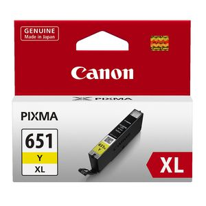 Canon CLI651 XL Ink Cartridge Yellow