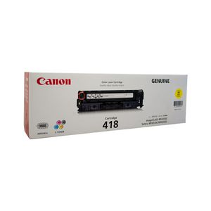 Canon Cart-418 Toner Cartridge Yellow