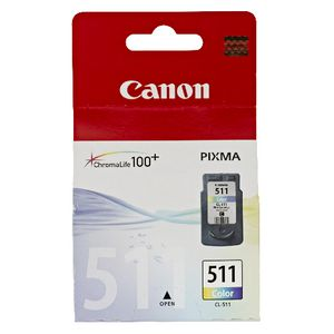 Canon CL-511 Tri-Colour Ink Cartridge