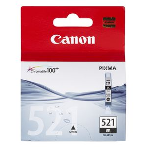 Canon ChromaLife100 CLI-521 Ink Cartridge Black
