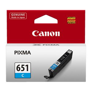Canon CLI-651 Ink Cartridge Cyan