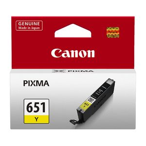 Canon CLI-651 Ink Cartridge Yellow