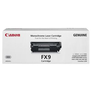 Canon FX-9 Toner Cartridge Black