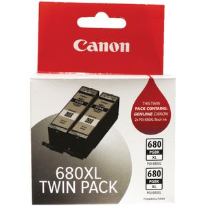 Canon PGI-680XL Ink Cartridge Twin Pack