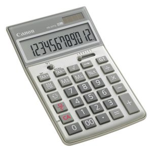 Canon HS-20TG 12 Digit Recycled Desktop Tax Calculator
