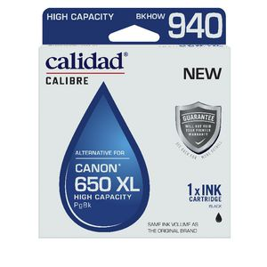 Calidad Alternative Canon 650XL Ink Cartridge Black