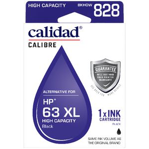 Calidad Alternate HP 63XL Ink Cartridge Black