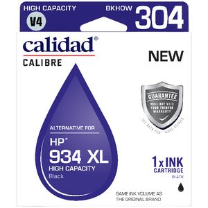 Calidad Alternate HP 934XL Ink Cartridge Black