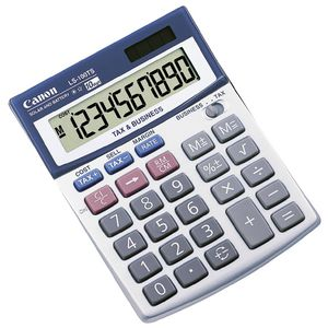 Canon LS-100TS 10 Digit Tax Calculator