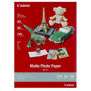 Canon A4 Matte Photo Paper 50 Pack