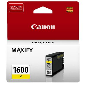 Canon PGI-1600 Ink Cartridge Yellow