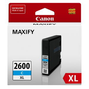 Canon PGI-2600XL Ink Cartridge Cyan