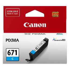 Canon CLI-671 Ink Cartridge Cyan