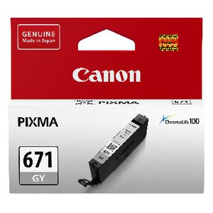 Canon CLI-671 Ink Cartridge Grey