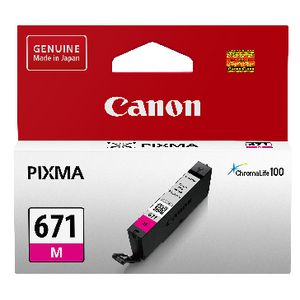 Canon CLI-671 Ink Cartridge Magenta