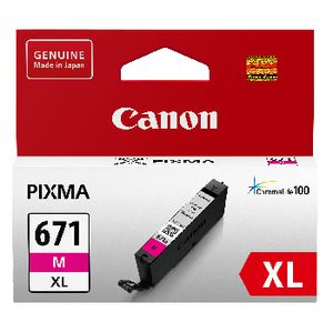 Canon CLI-671XL Ink Cartridge Magenta