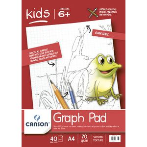 Canson A4 Graph Pad 70gsm 40 Sheets