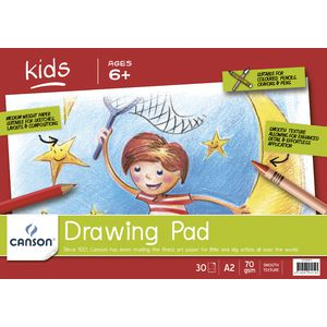 Canson A2 Drawing Pad 70gsm 30 Sheets