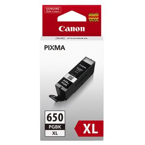 Canon PGBK 650 XL Ink Cartridge Black