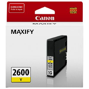 Canon PGI2600 Ink Cartridge Yellow
