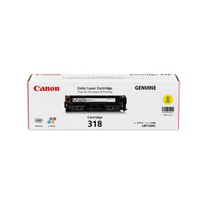 Canon Cart-318 Toner Cartridge Yellow