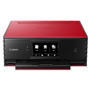 Canon Pixma Home Wireless Inkjet MFC Printer Red TS9060