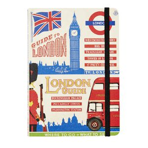 Cavallini City Guide Notebook London