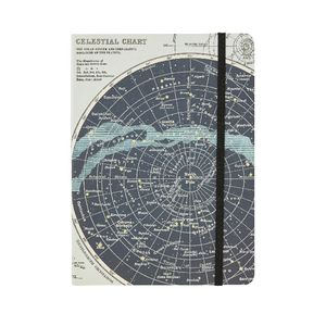 Cavallini Notebook Celestial Large