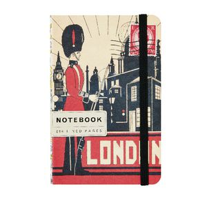 Cavallini Small Notebook London