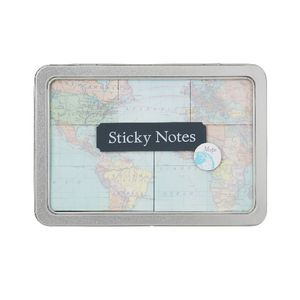 Cavallini Sticky Notes Vintage Maps