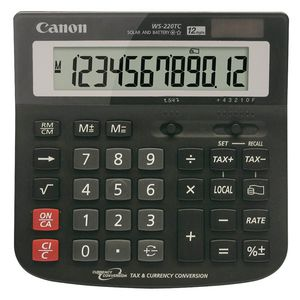 Canon WS22OTC 12 Digit Calculator