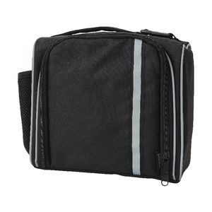 Studymate Tote Lunch Bag Black with Reflective Stripe