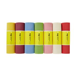 Keji PVC Grip Mat 30cm x 5m Assorted Colours