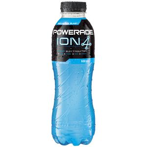 Powerade Flat Cap Mountain Blast 600mL 12 Pack