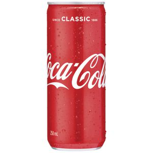 Coca Cola 250mL Can