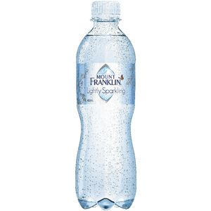 Mount Franklin Lightly Sparkling 450mL