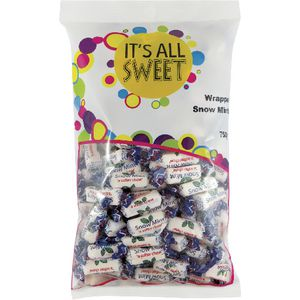 It's All Sweet Snow Mint Chews 750g