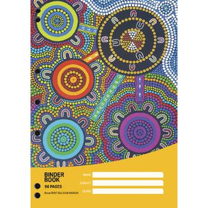 Cultural Choice A4 Binder Book 96 Page