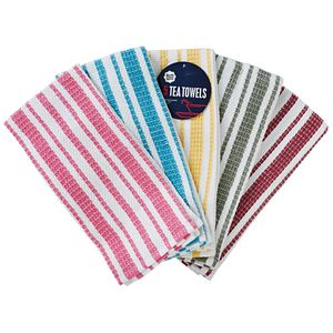 Ready Set Serve Tea Towel 5 Pack