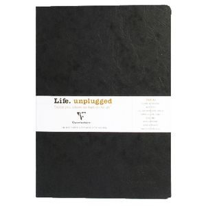 Clairefontaine Essentials A4 Lined Notebook Black 2 Pack