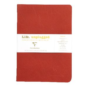 Clairefontaine Essentials A5 Lined Notebook Red 2 Pack