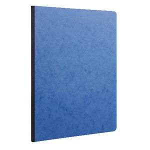 Clairefontaine A4 Plain Notebook Blue 2 Pack